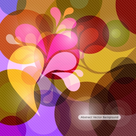 Abstract vector colorful background  Vector