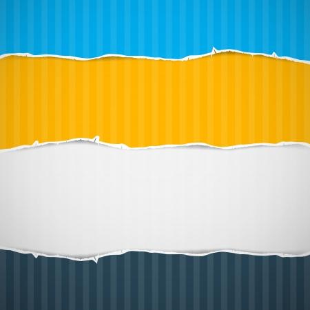 cartone strappato: Cartone Torn Background Paper