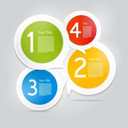 tutorial: Progress Steps for Tutorial, Infographics