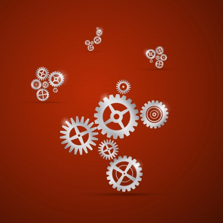 clock gears: Abstract cogs - gears