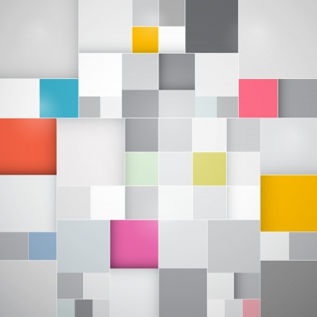 Abstract Vector Square Background Vector