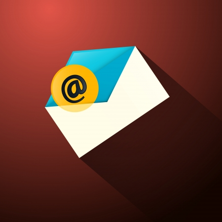 Email Envelope Icon  Vector