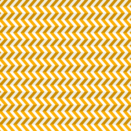 refracted: Seamless Abstract Orange Toothed Zig Zag Paper Background Illustration