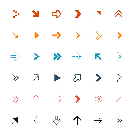 ベクトル矢印設定の図