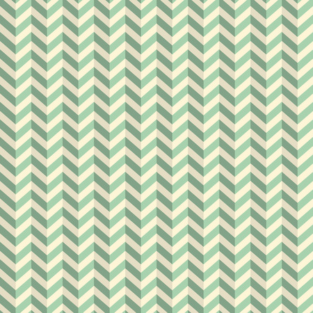 toothed: Seamless Retro Abstract Green Toothed Zig Zag Paper Background