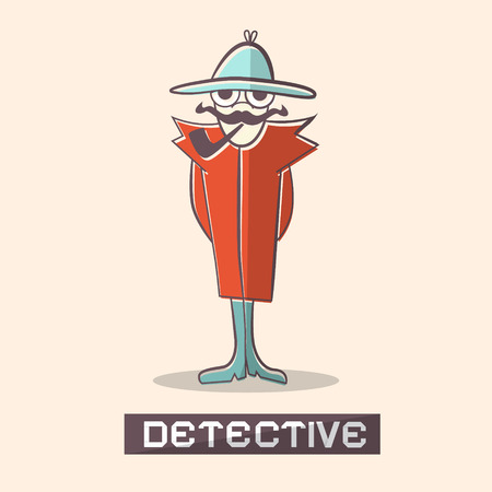 Detective Vector Illustration Vector
