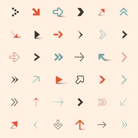 vector arrows: Simple Vector Arrows Set