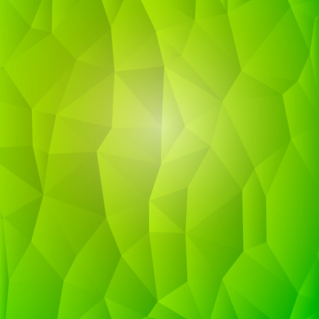 detail: Abstract Nature Detail Structure Green Triangles Background Illustration