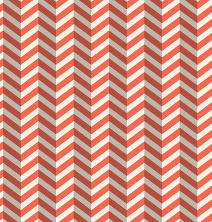 refracted: Seamless Retro Abstract Red Toothed Zig Zag Paper Background