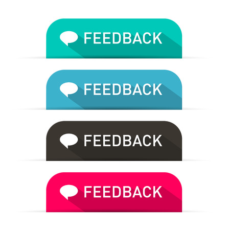 feedback: Vector Feedback Icons Set