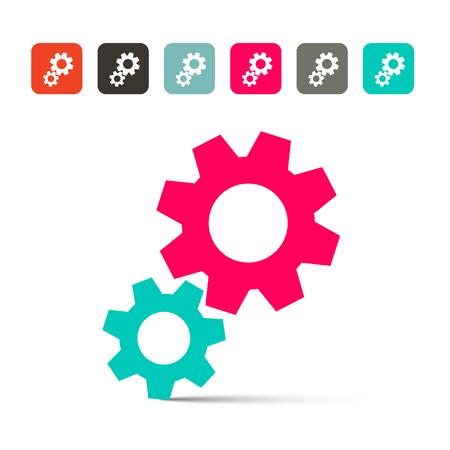 gearwheel: Cogs - Gears Vector Icons