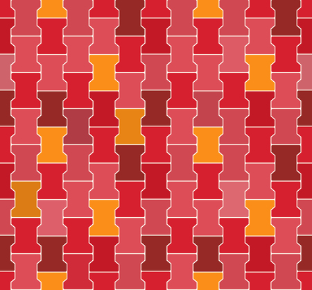 re: Seamless Red  - Pink - Orange Concrete Locking Pavement Vector Pattern