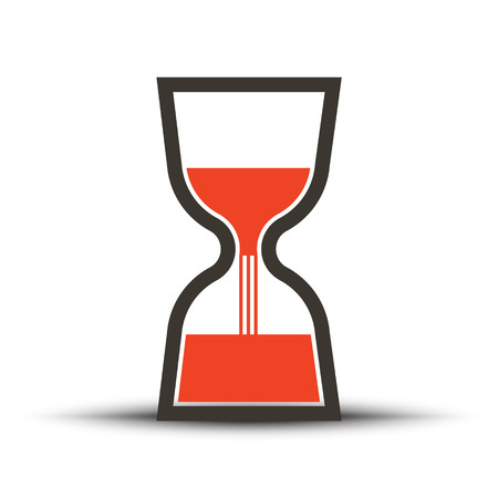 Reloj de Arena - icono del vector