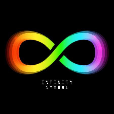 Infinity Symbol Ilustrace