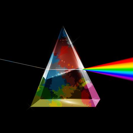 Vector Spectrum Abstract Illustration.