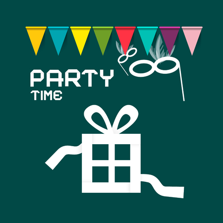 Party Card Vector Design Ilustrace