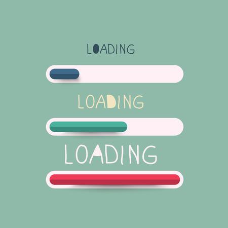Loading Bar Vector Symbol