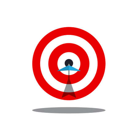 Target Icon - Vector Success Symbol