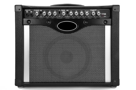 e guitar: Guitar Amplifiers Stock Photo
