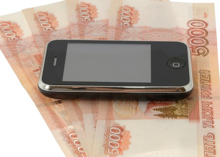 roubles: cellular phone and roubles
