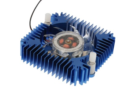 aluminum heatsink for  cooling computers components Stock Photo - 7950181