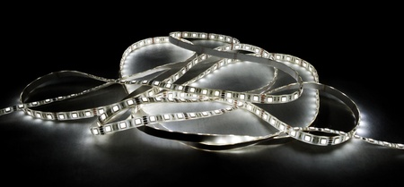 white led strip Stock Photo - 12926672
