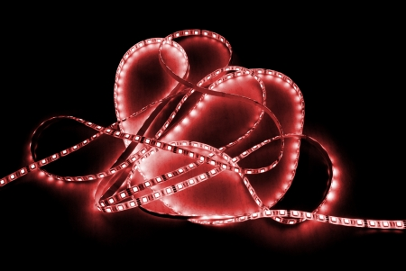 red led strip photo