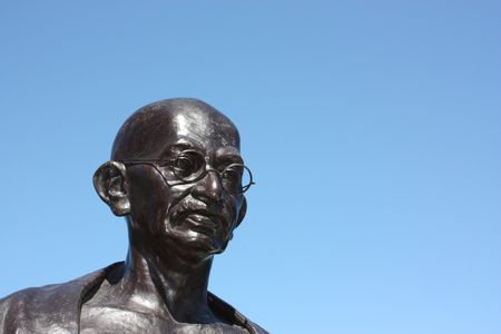 gandhi: Statue of Gandhi