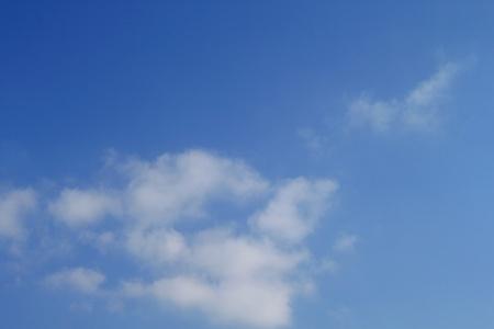 blue sky texture photo