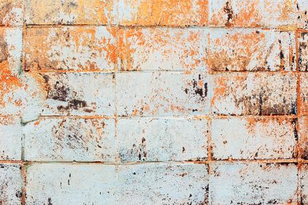 hues: wall texture tiles gray orange hues