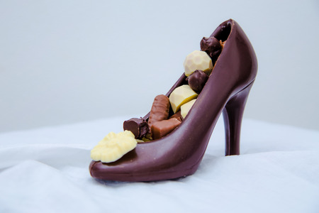 chocolate handmade shoe