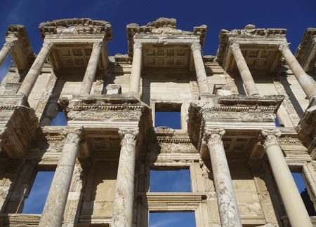 Ancient Building With Greek Architecture