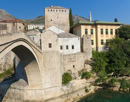 Stari Most, the Famous Old Bridge in Mostar, Bosnia and Herzegovina