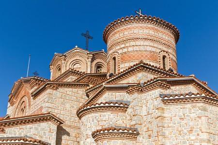 panteleimon: St. Panteleimon Monastery in Ohrid, Macedonia