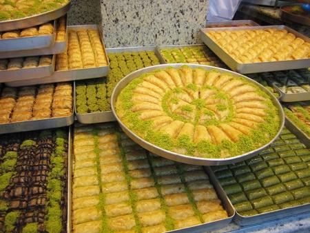 Turkish Baklava Imagens