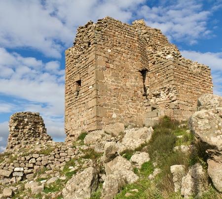 Ruins of the Ancient Greek City of Pergamon in Bergama, Turkey photo