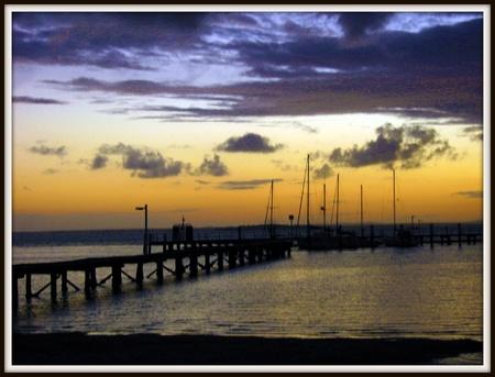 Breathe taking Sunset Port Stephens photo