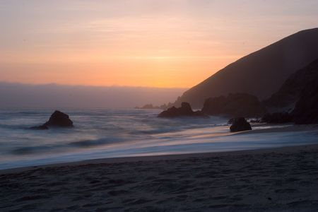 Big Sur Sunset Stock Photo - 2822555