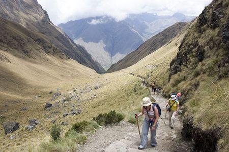 Chemin de l'Inca Banque d'images - 2822476