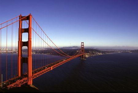샌프란시스코: San Francisco landmark - Golden Gate bridge