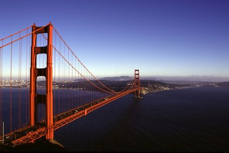 San Francisco landmark - Golden Gate bridge