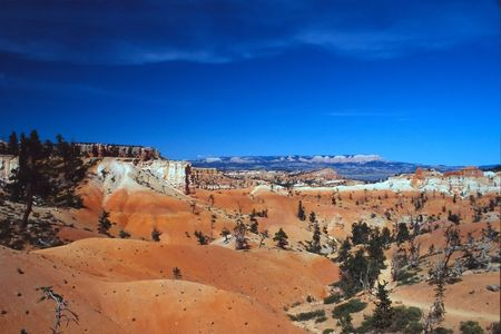 Bryce Canyon National Park is a national park located in southwestern Utah in the United States. Contained within the park is Bryce Canyon. Despite its name, this is not actually a canyon, but rather a giant natural amphitheater created by erosion along t photo