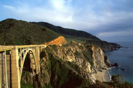 lucia: Big Sur is a sparsely populated region of the central California, United States coast where the Santa Lucia Mountains rise abruptly from the Pacific Ocean.