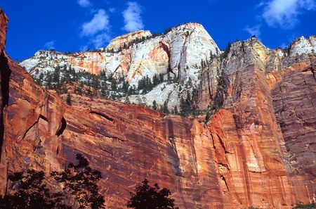 Zion National Park is a United States National Park located in the Southwestern United States, near Springdale, Utah.