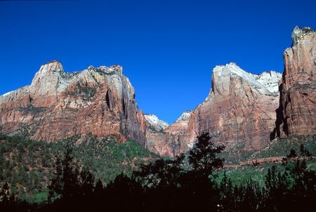 Zion National Park is a United States National Park located in the Southwestern United States, near Springdale, Utah. photo