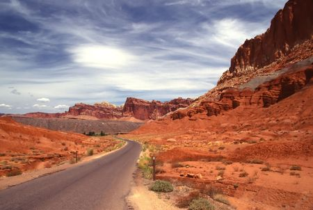 Capitol Reef National Park is a United States National Park, in south-central Utah. photo