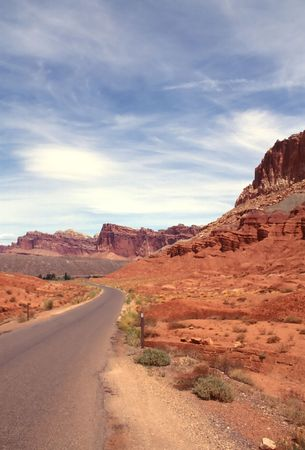 Capitol Reef National Park is a United States National Park, in south-central Utah. Stock Photo - 2938291