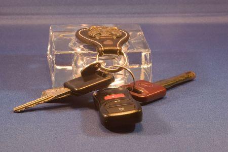 doorkey: Un portachiavi o chiave della catena � una piccola catena, in genere effettuata da metallo o plastica, che si connette un piccolo elemento a un portachiavi.  Archivio Fotografico