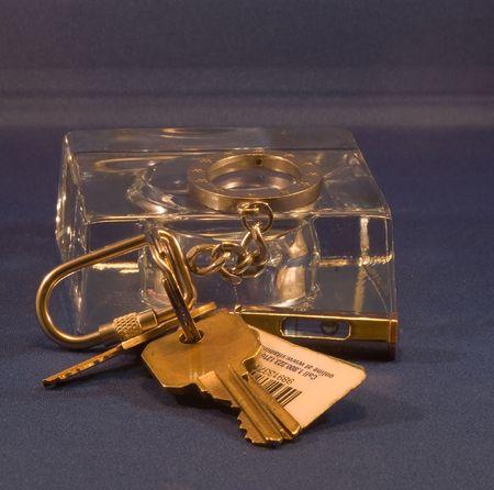 A keychain or key chain  photo