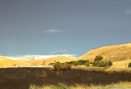 altamont pass: Altamont Pass Wind Farm is one of the earliest in the United States located in the Altamont Pass. The wind farm is composed of over 4900 relatively small wind turbines of various types